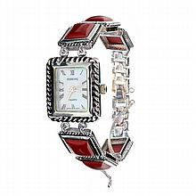 Exquisite Ladies Sterling Watch