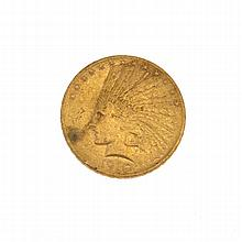 1910 $10 U.S. Indian Head Gold Coin