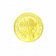 1998 1/10 oz Austrian Philharmonic Gold Coin