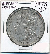 *1878 8TF Morgan Dollar PL BU Toned Coin (JG)