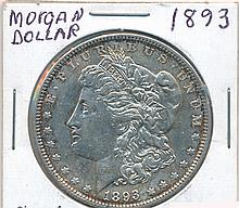 *1893 Morgan Dollar Coin (JG)