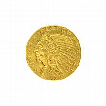 1928 $2.50 U.S. Indian Head Gold Coin