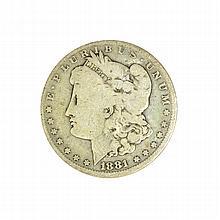 1881-O Morgan Dollar Coin
