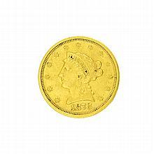 1878-S $2.50 U.S. Liberty Head Gold Coin