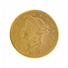 *1888-S $20 U.S. Liberty Head Gold Coin