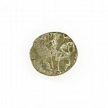 Bull And Horse Jital Circa 300 BC Coin