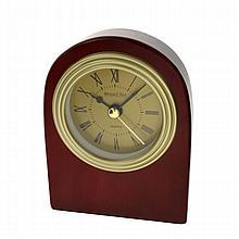 Solid Wood Standing Desk Top Clock New In Box