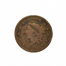 1835 Large Cent Coin