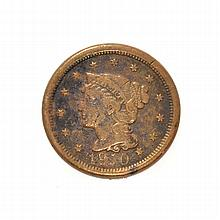 18X0 Large Cent Coin