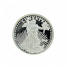2013 American Eagle 0.10 (1/10) Troy Oz .999 Pure Silver Bullion Round Coin