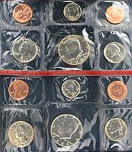 1989 U.S. Uncirculated With D And P Mint Marks Coin Set