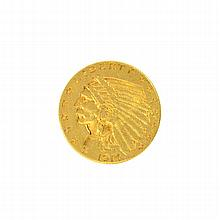*1914-D $2.50 U.S. Indian Head Gold Coin