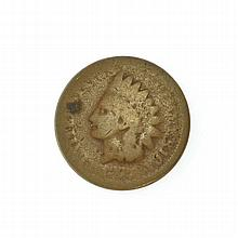 1877 Indian Head Cent Coin