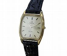 *Omega Deville Leather Band Swiss Made Ladies Watch