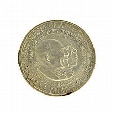 1953-S Booker T. Washington Commemorative Half Dollar Coin