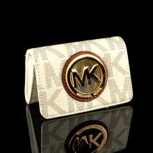 ^Brand New Michael Kors Fulton Vanilla Card Case