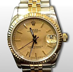 2T Rolex Mid-Size Datejust Watch