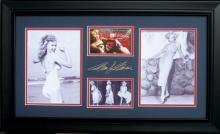 Marilyn Monroe Laser Signature with Authentic Swatch from her Personal Nylons