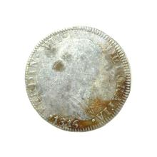 1816 Eigth Reales American First Silver Dollar Coin