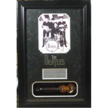 Beatles Engraved with Mini Guitar