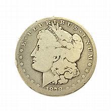 1878-CC Morgan Dollar Coin Coin