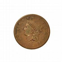 1834 Large Cent Coin