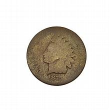1877 Indian Cent Coin