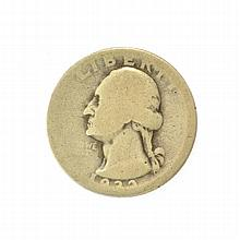 1932-D Washington Quarter Dollar Coin