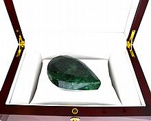 APP: 7k 878.80CT Pear Cut Green Beryl Emerald Gemstone