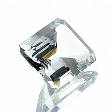 APP: 6.9k 4.60CT Emerald Cut Aquamarine Gemstone