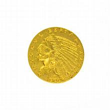 *1909 $2.5 U.S. Indian Head Gold Coin