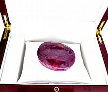 APP: 18.5k 1089.50CT Oval Cut Ruby Gemstone