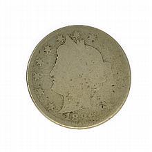 1886 Liberty Nickel Coin