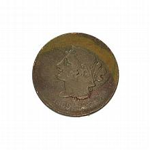 1839 Large Cent Coin