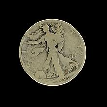 1921 Liberty Walking Hallf Dollar Coin