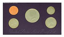 1991 United States Mint Proof Set Coin