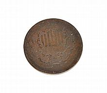1864 Two Cents Coin