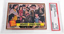 1962 Topps #143 Babe Ruth Greatest Sports Hero PSA 6 EX-MT
