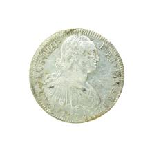 1794 Extremely Rare Eight Reales American First Silver Dollar Coin