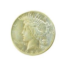 1924-S Peace Silver Dollar Coin