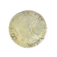 1800 Eight Reales American First Silver Dollar Coin