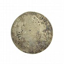 1898 Eight Reales American First Silver Dollar Coin