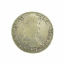1819 Eight Reales American First Silver Dollar Coin
