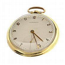 *Antique Rare Solid 14 kt. Gold, Movado Pocket Watch