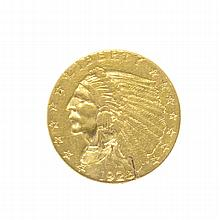 1925-D $2.50 U.S. Indian Head Gold Coin