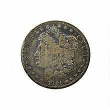 1881-O Morgan Dollar Coin