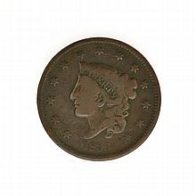 1836 Large Cent  Coin