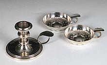 Pareja de catavinos de plata de ley 800 122 g 8 cm 50 - 90 €