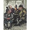 Batchelor, Roland 1889-1990 British AR, Figures in, Roland Batchelor, £10