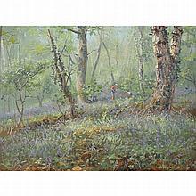 Preston, Rex b1948 British AR, Spring Flowers,12 x 16 ins., (30.5 x 40.4 cm
